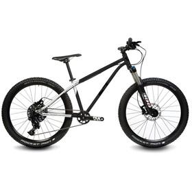 "Early Rider Hellion Trail MTB Hardtail 24"" Kids brushed aluminum/black"